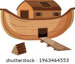 Blank Noah's Ark Cartoon Style...