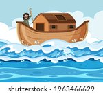 Noah Standing Alone On His Ark...