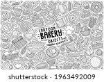 line art vector hand drawn... | Shutterstock .eps vector #1963492009