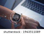 ai artificial intelligence  iot ...   Shutterstock . vector #1963511089