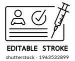 vaccination certificate against ...   Shutterstock .eps vector #1963532899