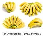 Banana Isolated. Bananas On...