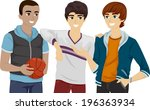 illustration of a group of male ...   Shutterstock .eps vector #196363934