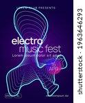 electronic fest. dynamic...   Shutterstock .eps vector #1963646293