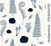 seamless nature pattern of a... | Shutterstock .eps vector #1963656550