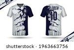 soccer jersey template sport t... | Shutterstock .eps vector #1963663756