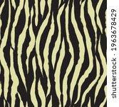 zebra seamless pattern in... | Shutterstock .eps vector #1963678429