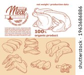 meat products in a frame ...   Shutterstock .eps vector #1963686886