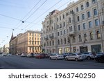 saint petersburg  russia  ...   Shutterstock . vector #1963740250