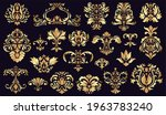 antique damask ornaments.... | Shutterstock .eps vector #1963783240