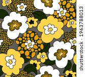 seamless pattern with simple... | Shutterstock .eps vector #1963788013