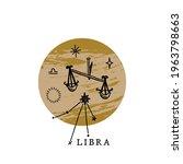 Zodiac Libra Boho Magical...