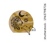 Zodiac Leo Boho Magical Vintage ...