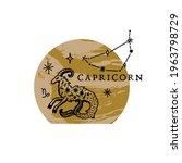 Zodiac Capricorn Boho Magical...