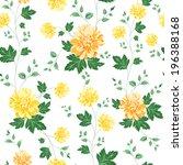 Seamless Pattern On Fabric As...