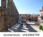 The Aqueduct Of Segovia ...