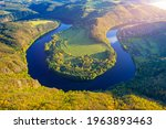 View Of Vltava River Horseshoe...