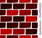 brick wall motif handdrawn... | Shutterstock .eps vector #1963904203