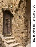 historic streets of yaffo  tel...   Shutterstock . vector #196391480