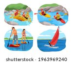 extreme sport adventure set....   Shutterstock .eps vector #1963969240