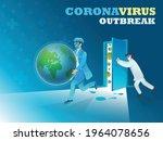 vector illustration of doctors... | Shutterstock .eps vector #1964078656