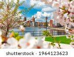 Spring Scenery Of The Old Town...