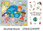 space adventure. international... | Shutterstock .eps vector #1964124499