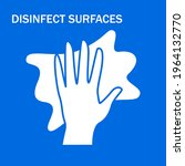 surface disinfection vector...