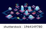 isometric vector of a modern...   Shutterstock .eps vector #1964149780