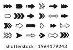 set of black different arrow.... | Shutterstock .eps vector #1964179243