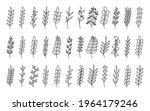 curved black outline tree... | Shutterstock .eps vector #1964179246
