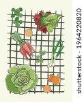 Gardening Vegetables Green...