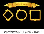 gold frame templates  award...