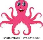 octopus vector art and... | Shutterstock .eps vector #1964246230