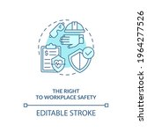 the right to workplace safety...   Shutterstock .eps vector #1964277526