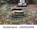 Old Broken Abandoned Rusty...