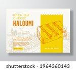 premium local haloumi food...   Shutterstock .eps vector #1964360143