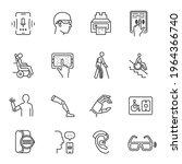 technology for disabled set... | Shutterstock .eps vector #1964366740