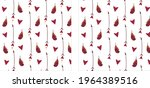 postcards with feathers and... | Shutterstock .eps vector #1964389516