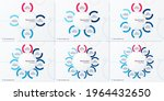 set of vector modern circle...   Shutterstock .eps vector #1964432650