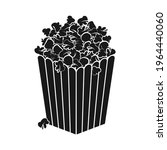 popcorn box or bucket full of... | Shutterstock .eps vector #1964440060