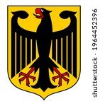 germany coat of arms national... | Shutterstock .eps vector #1964452396