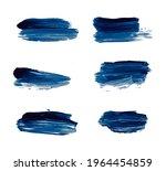 set of vector grunge brushes...   Shutterstock .eps vector #1964454859