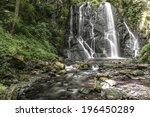 Waterfall Pevereggia In The...