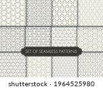 repeat ornament vector white... | Shutterstock .eps vector #1964525980