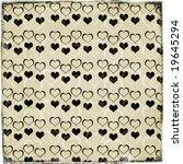 shabby valentine background | Shutterstock . vector #19645294