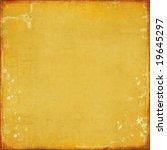 golden burned backdrop | Shutterstock . vector #19645297