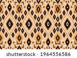 ikat geometric folklore...   Shutterstock .eps vector #1964556586