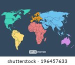 World Map Illustration  Stock...