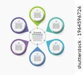 business circle. timeline... | Shutterstock .eps vector #1964596726